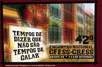 Recife recebe o 42º Encontro Nacional CFESS-CRESS