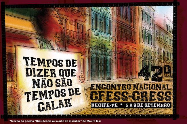 Arte do 42º Encontro Nacional (autor: Rafael Werkema)