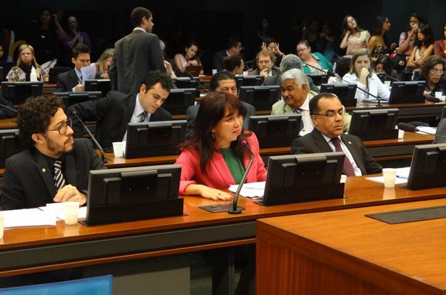 Foto dos trabalhos da Comissão de Educação da Câmara no dia oito de maio de dois mil e treze