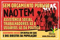 CFESS e entidades repudiam boicote do ministro do desenvolvimento social à reunião ordinária do CNAS