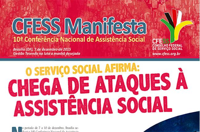 Imagem do CFESS Manifesta da Conferência de Assistência