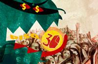 Aprovação da Terceirização: mais um ponto para a greve geral já!