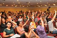 Assistentes sociais reafirmam a defesa dos direitos da classe trabalhadora!
