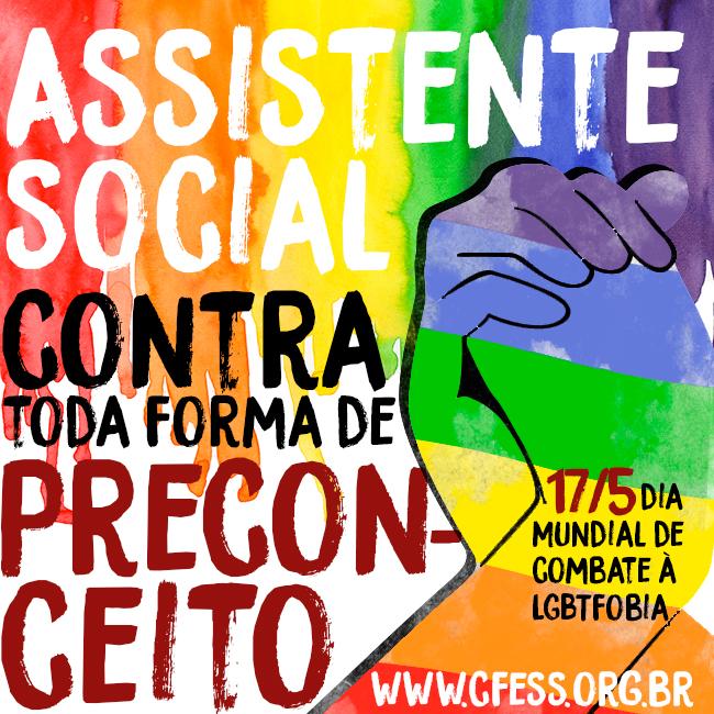 Imagem mostra mãos dadas sob as cores da bandeira LGBT