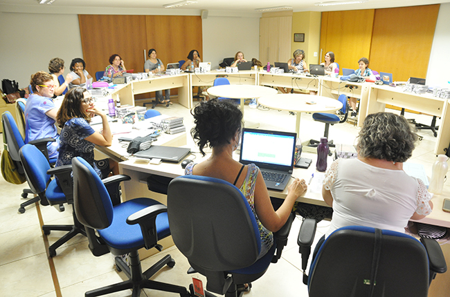Imagem da reunião do Conselho Pleno do CFESS de novembro