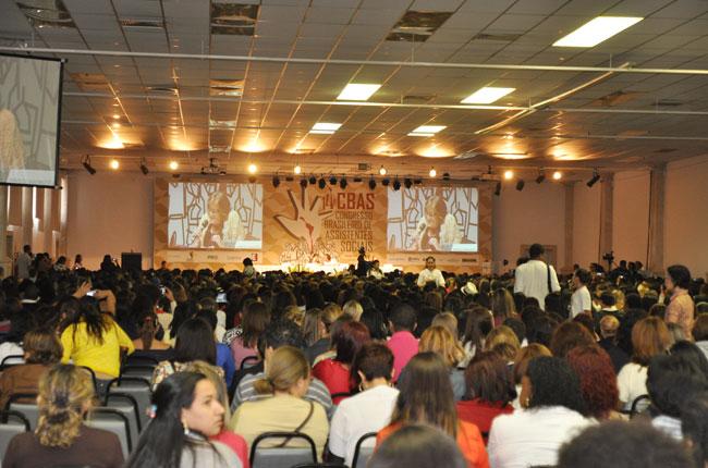 Plenária ficou lotada durante o último dia de CBAS (foto: Rafael Werkema)