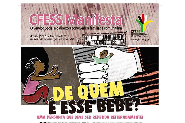 Imagem do CFESS Manifesta sobre a adoção