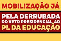 CFESS se manifesta sobre o veto do presidente ao PL Educação