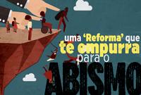 Uma 'reforma' que te empurra para o abismo! Veja o novo 'CFESS Manifesta'