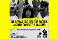 Na defesa dos direitos sociais, a gente combate o racismo!