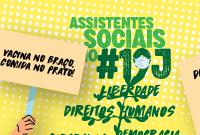 19J é pela vida, pela vacina e 'Fora Bolsonaro'!