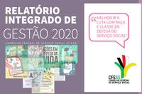 CFESS divulga o Relatório de Gestão TCU 2020