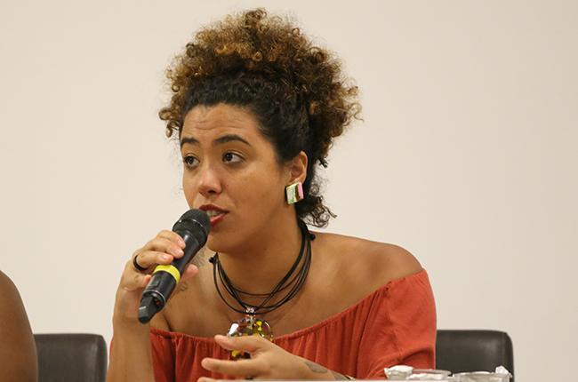 Fotografia da historiadora e deputada Talíria Petrone