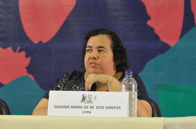 Professora da UFRN Silvana Mara