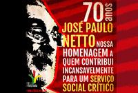 CFESS presta homenagem aos 70 anos do professor José Paulo Netto