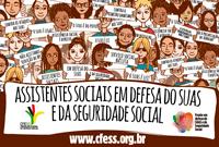 Assistentes sociais também estão na luta em defesa da seguridade social e do Suas
