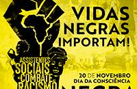 Vidas negras importam! CFESS lança manifesto do Dia da Consciência Negra
