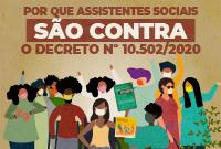 CFESS defende revogação do Decreto nº 10.502/2020