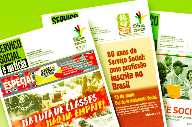 Imagem mostra capas das edições lançadas