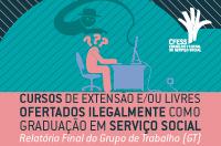 CFESS publica orientação aos CRESS sobre cursos ilegais