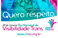 Serviço Social está na luta pela visibilidade trans