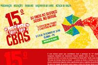 Inscrições abertas para o 15º Congresso Brasileiro de Assistentes Sociais (CBAS)