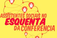 Assistentes sociais no 'esquenta' da Conferência Nacional de Assistência Social