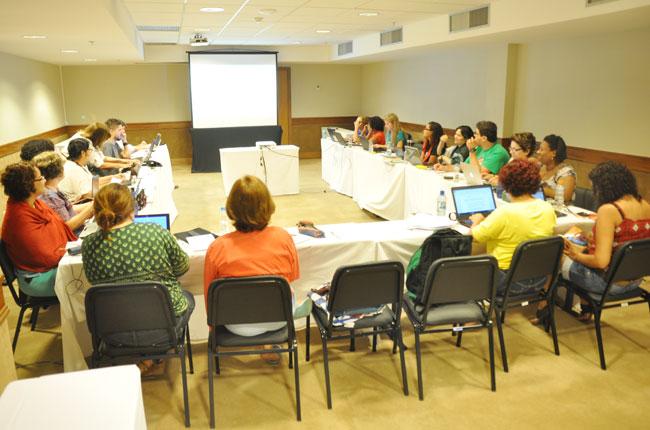 Imagem da reunião do Conselho Pleno do CFESS