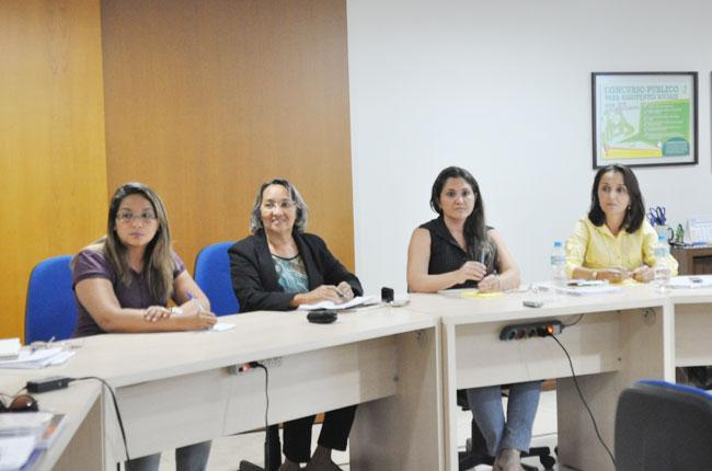 Lucicléa, Célia, Lílian e Maristela integraram a Comissão Especial de 2014