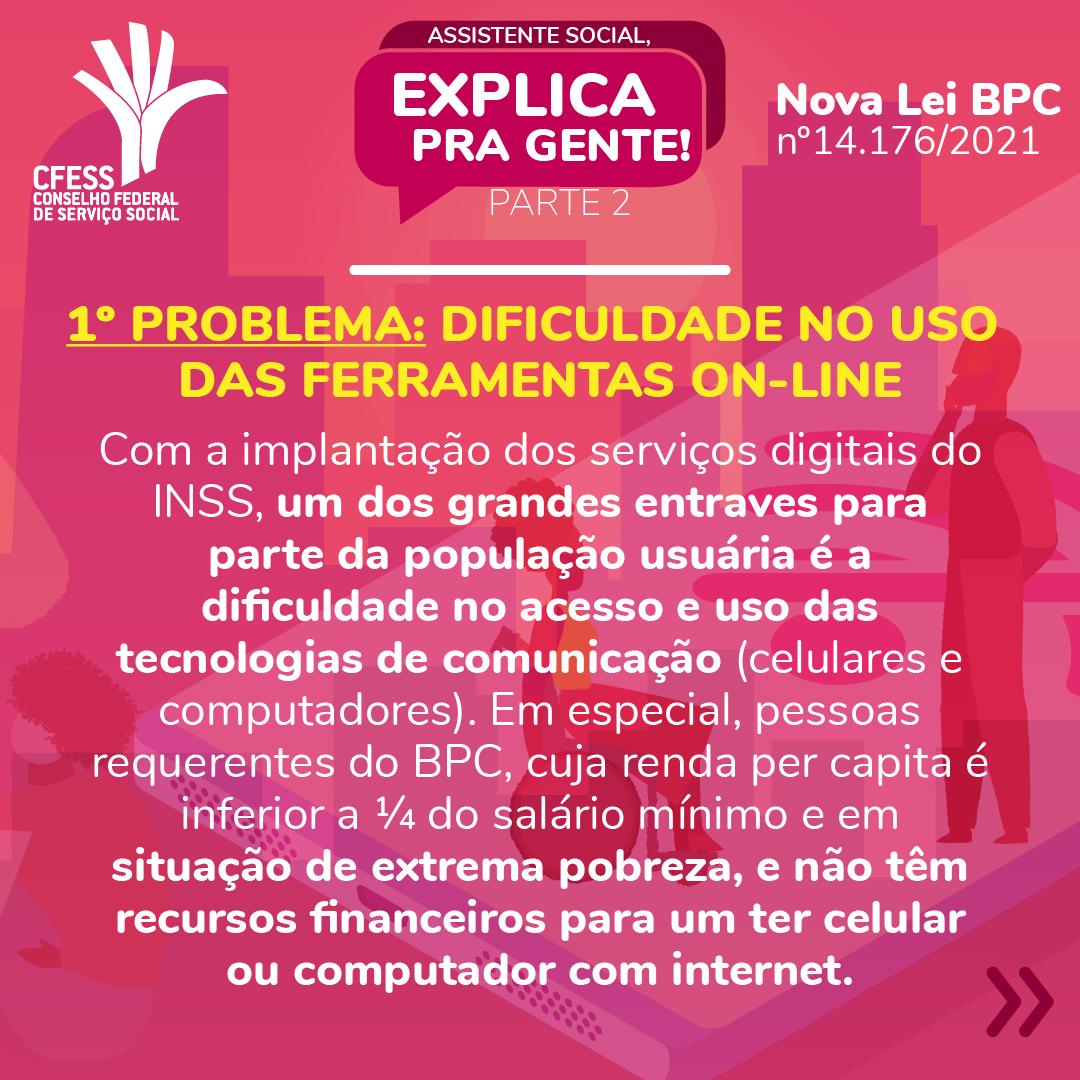 Card rosa traz o título da série. Ao fundo imagens de pessoas simulando atendimento on-line por celular ou computador
