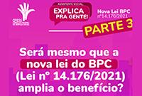 Lei do BPC muda modelo de avaliação e quem perde é a pessoa com deficiência