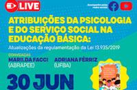 Entidades da Psicologia e Serviço Social debatem atribuições profissionais na rede pública de educação básica