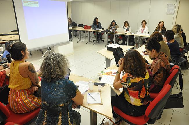 Representantes do CFESS nos fóruns e conselhos se reuniram nesta quarta-feira (6)