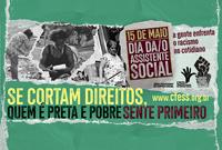 15 de maio é o Dia do/a Assistente Social!