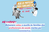 Coronavírus: CFESS defende a campanha #AuxílioParaSaúde