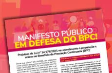 CFESS se articula contra a teleavaliação para acesso ao BPC, do INSS