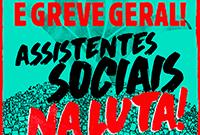 Dia 30 de junho é Greve Geral! Assistentes sociais na luta!