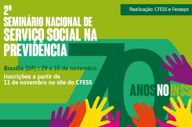 Imagem mostra mãos abraçando o número 70, em homenagem ao serviço social no INSS