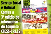 CFESS lança 3ª edição do informativo Serviço Social é Notícia