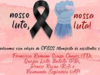 Nosso luto, nossa luta! 1º de maio, Dia Mundial das/os Trabalhadoras/es