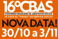 16ª CBAS tem nova data: de 30 de outubro a 3 de novembro!