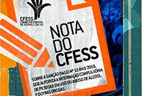 CFESS divulga nota sobre lei que autoriza a internação compulsória de pessoas em uso de álcool e outras drogas