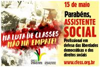 15 de maio: parabéns, assistente social!