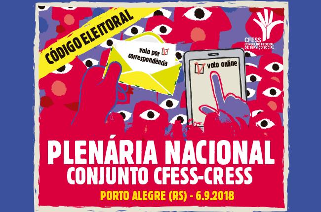 Imagem é uma ilustração de mãos e rostos abstratos, coloridos, segurando, de um lado, uma cédula eleitoral escrita voto por correspondência, e de outro, um tablet escrito voto on line