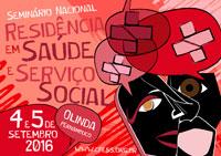 Estão abertas as inscrições para o Seminário de Residência em Saúde e Serviço Social