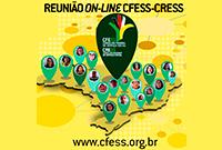 CFESS se reúne com os CRESS de todo o Brasil por meio virtual