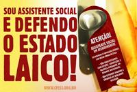 CFESS se manifesta: Estado Laico já!