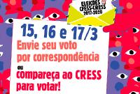 Eleições do Conjunto CFESS-CRESS: é hora de votar!