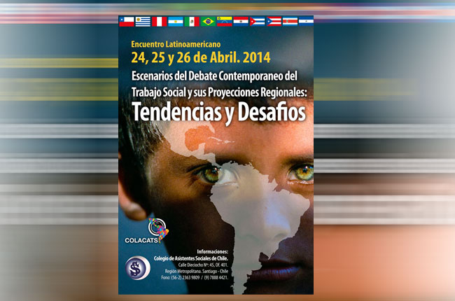 Cartaz do 1º Seminário Latino-americano de Serviço Social