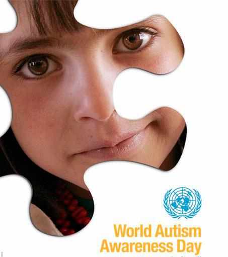 Imagem do cartaz da ONU pelo Dia Mundial de Conscientização do Autismo